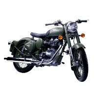 Royal Enfield Classic Battle Green Picture