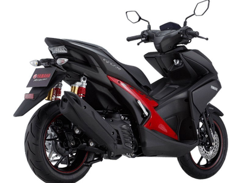 Yamaha Aerox 155 Spotted at a Dealership in Visakhapatnam