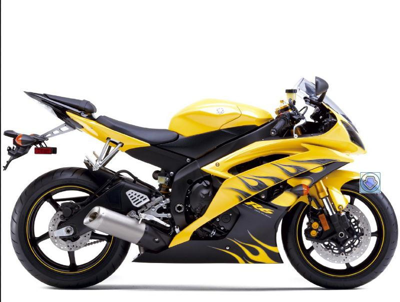Yamaha R Vicky In