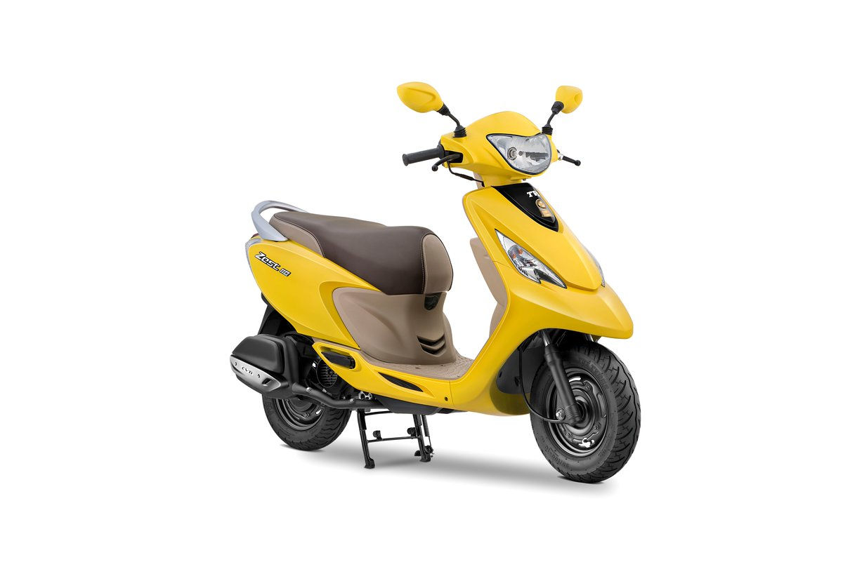 Tvs scooty zest colours in india tvs scooty zest colors for Motor scooter blue book