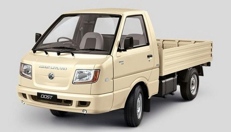Ashok Leyland Dost Cng Colour Irish Cream