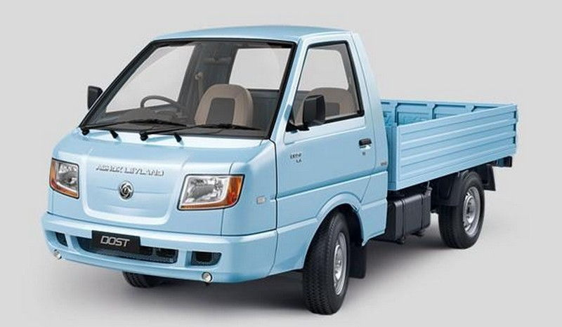 Ashok Leyland Dost Ls Colour Blue
