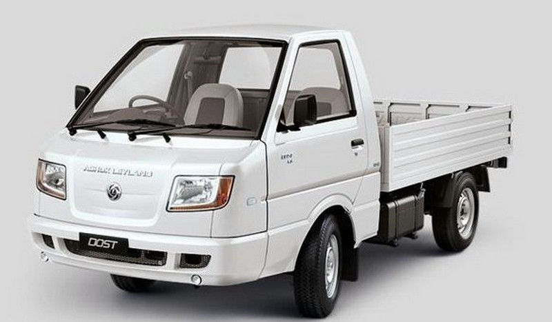Ashok Leyland Dost Ls Colour White