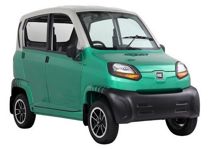 Bajaj Qute Colour Green