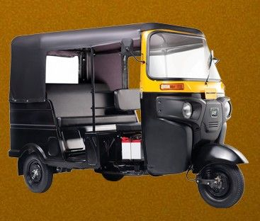 Bajaj Re Optima Diesel Colour Black