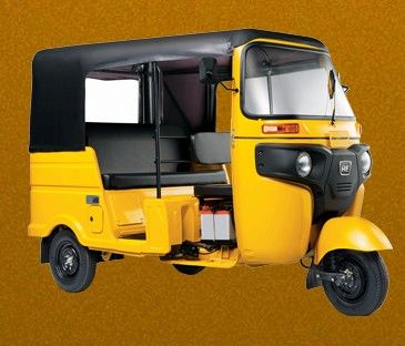 Bajaj Re Optima Diesel Colour Yellow