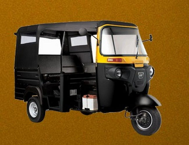 Bajaj Three Wheeler Max Cng Colour Black