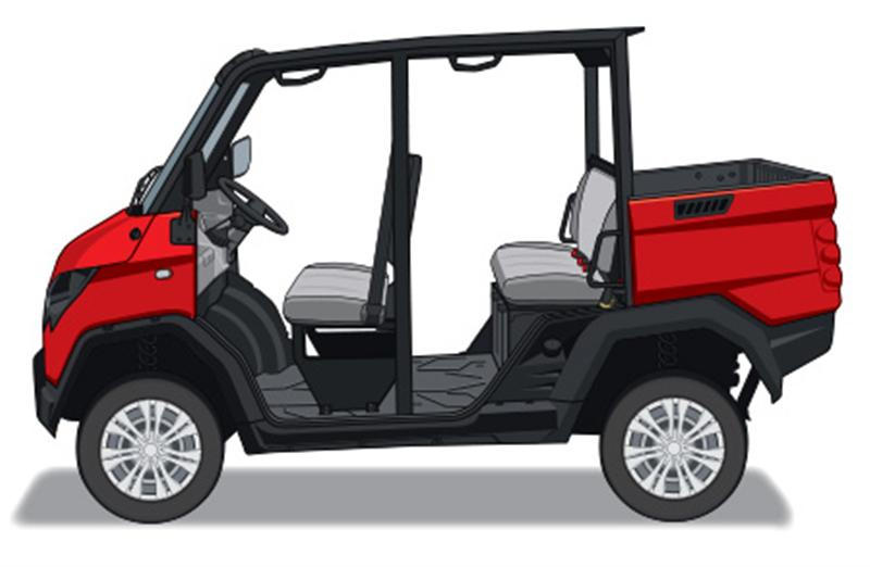 Eicher Polaris Multix Axplus Colour Red