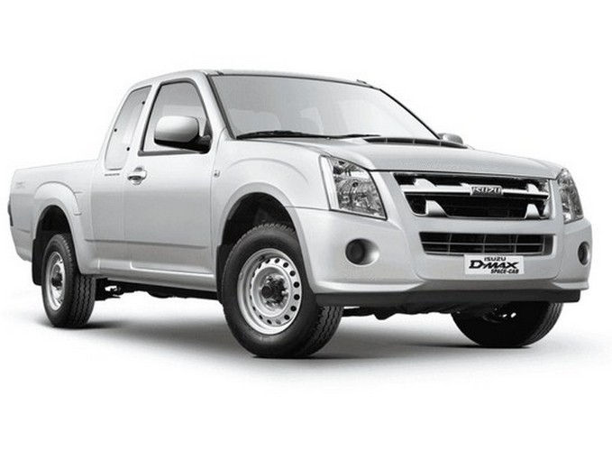 Isuzu D Max Space Cab Arched Deck Colour Alpine White