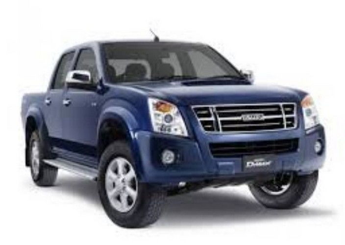 Isuzu D Max Space Cab Arched Deck Colour Nautilus Blue