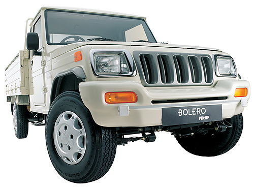 Mahindra Bolero Pick Up Fb Colour White