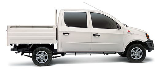 Mahindra Genio Dc Colour White