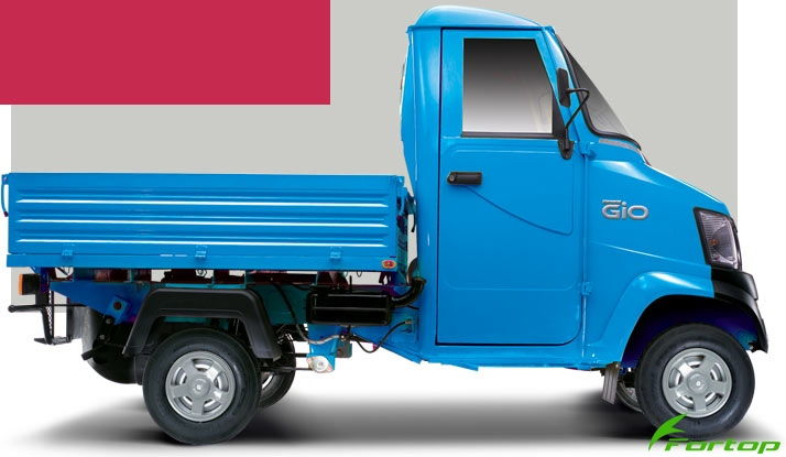 Mahindra Gio Colour Blue
