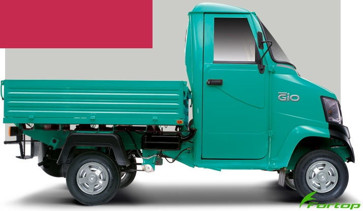 Mahindra Gio Colour Green