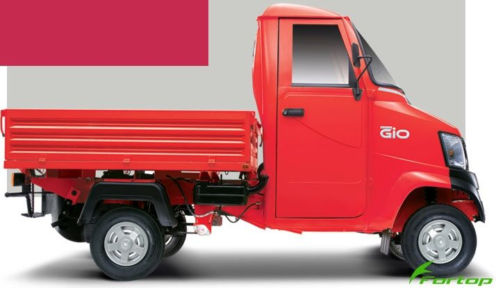 Mahindra Gio Colour Red
