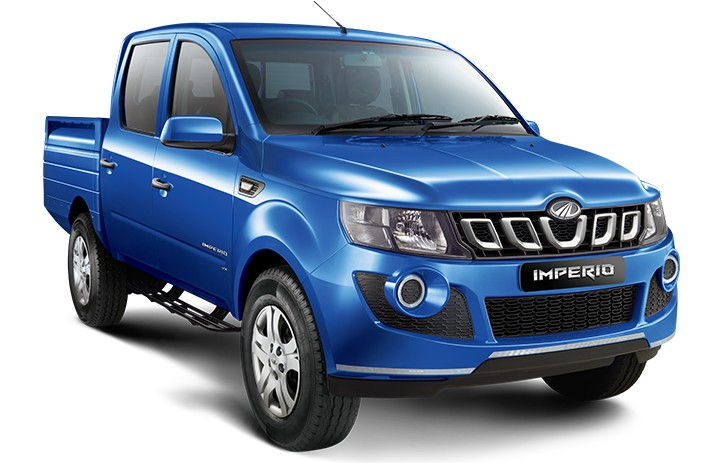 Mahindra Imperio Double Cabin Color Blue