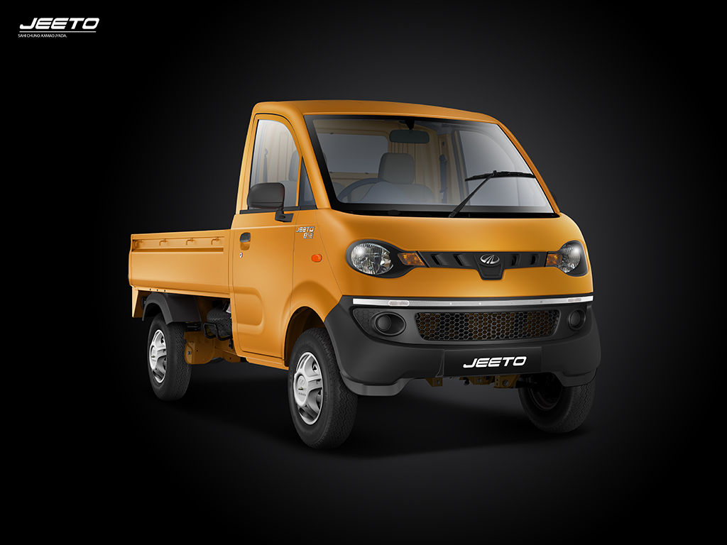Mahindra Jeeto Mango Yellow Colour