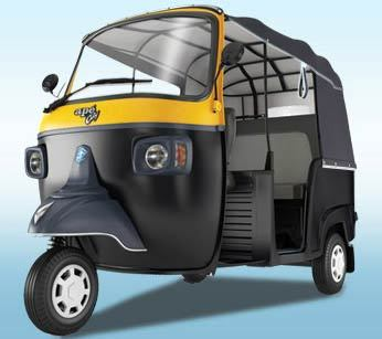 Piaggio Ape City Lpg Colour Black