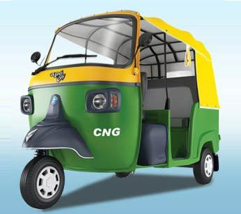 Piaggio Ape City Lpg Colour Green
