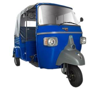 Piaggio Ape City Petrol Colour Blue