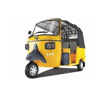 Piaggio Ape City Petrol Colour Yellow