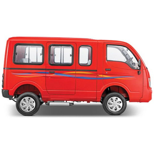 Tata Magic Express Lazer Red Color