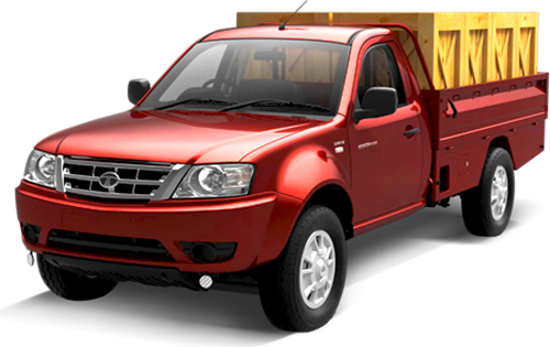 Tata Xenon Crew Cab Colour Red