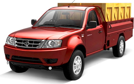 Tata Xenon Colour Red