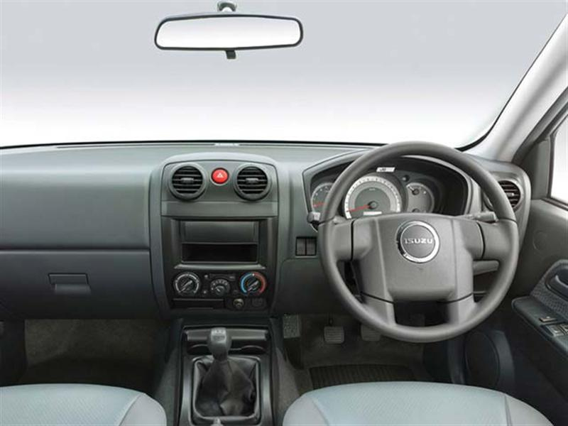 D Max Space Cab Flat Deck Interiors Steering