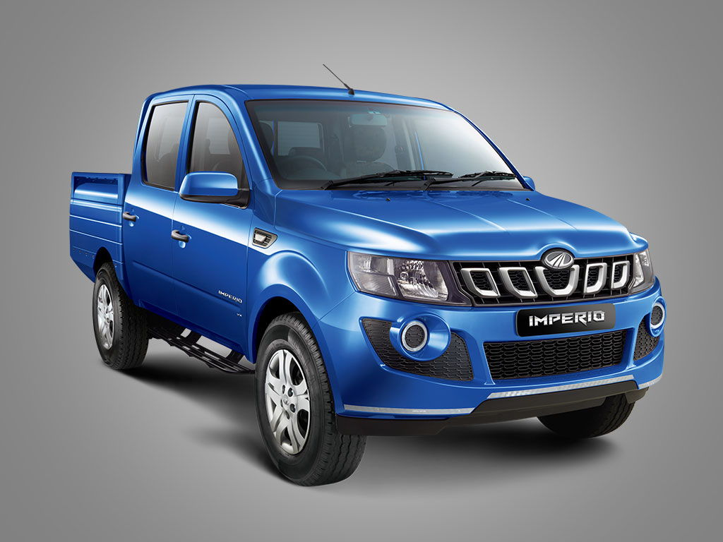 Mahindra Imperio Double Cabin Front Quarter View