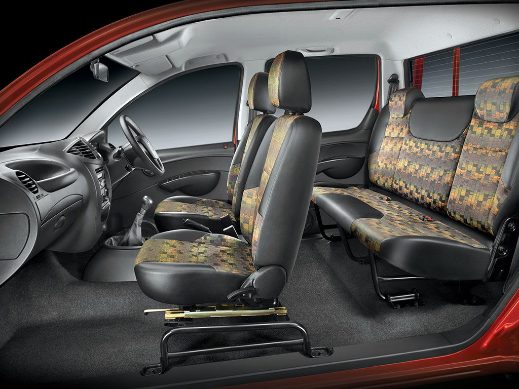 Mahindra Imperio Interiors Seats