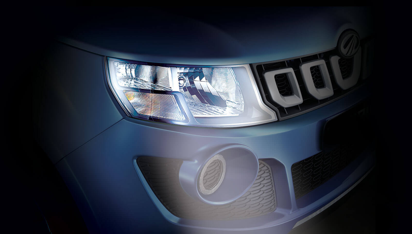Mahindra Imperio Stylish Headlamps