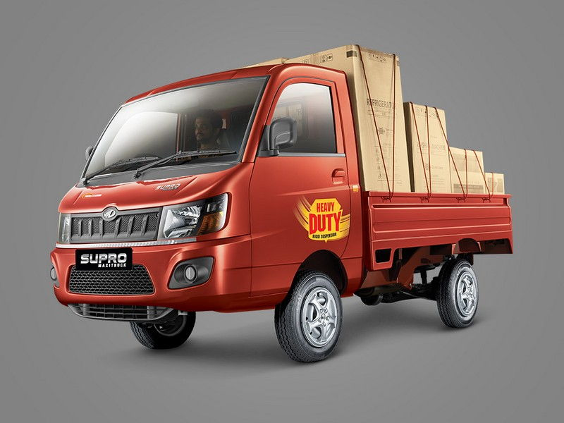 Mahindra Supro Maxitruck Side Quarter View
