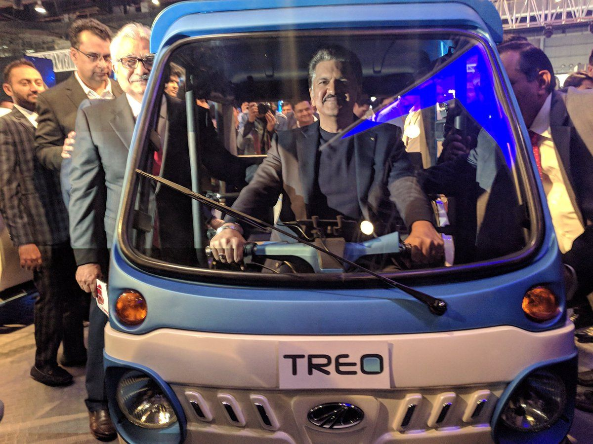 Mahindra Treo Electric