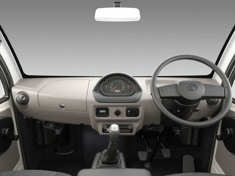 Tata Ace Mega Interiors Dashboard